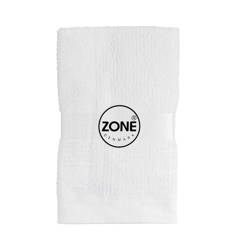 Zone Classic håndklæde 50 x 100 cm hvid