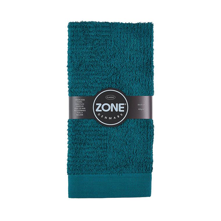Zone Confetti håndklæde mørk grøn