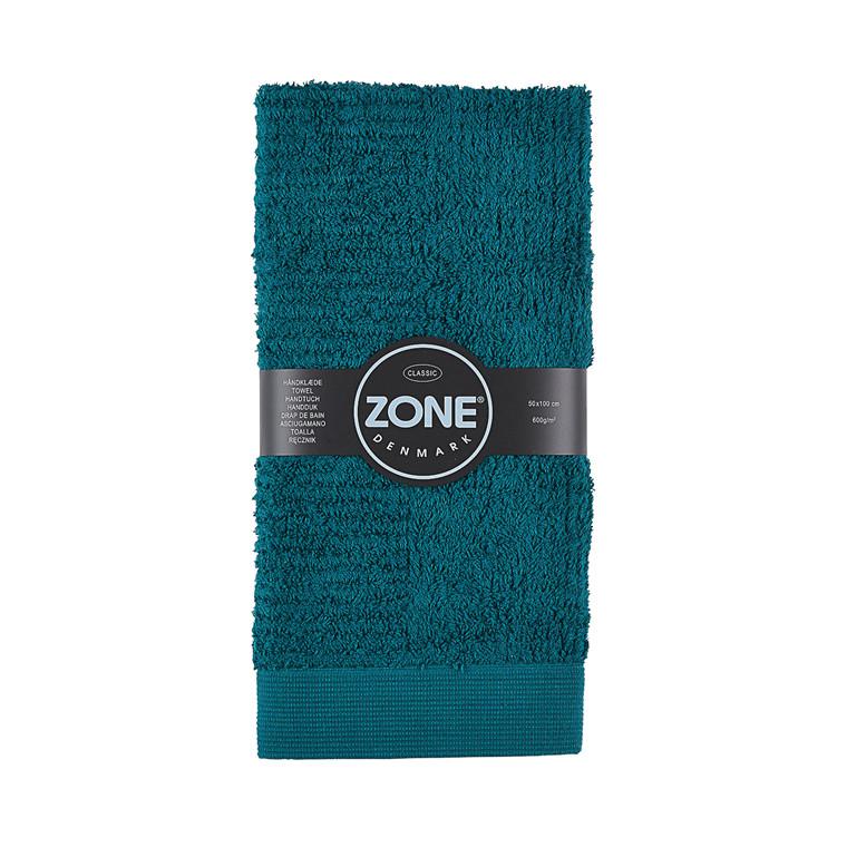 Zone Classic håndklæde 50 x 100 cm mørk grøn