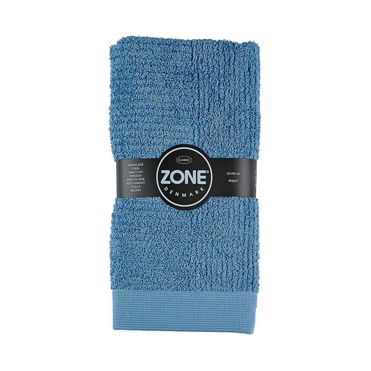 Zone Classic håndklæde 50 x 100 cm blå