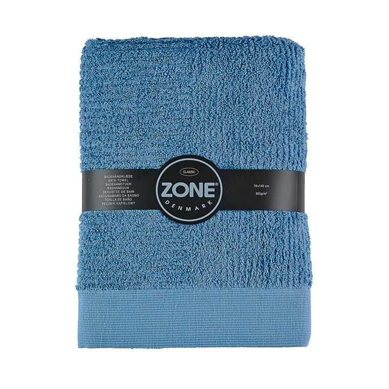 Zone Classic badehåndklæde 70 x 140 cm blå