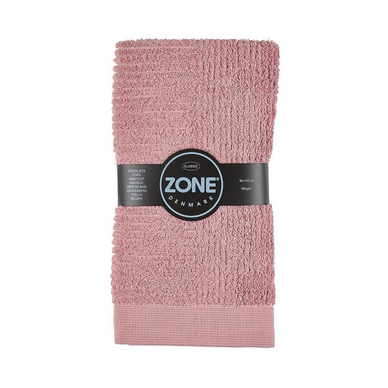 Zone Classic Håndklæde 50 x 100 cm rosa