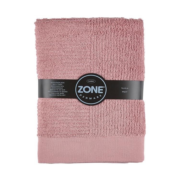 Zone Classic badehåndklæde 70 x 140 cm rosa