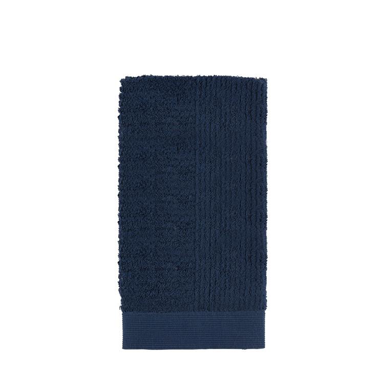 Zone Classic håndklæde 50 x 100 cm mørk blå