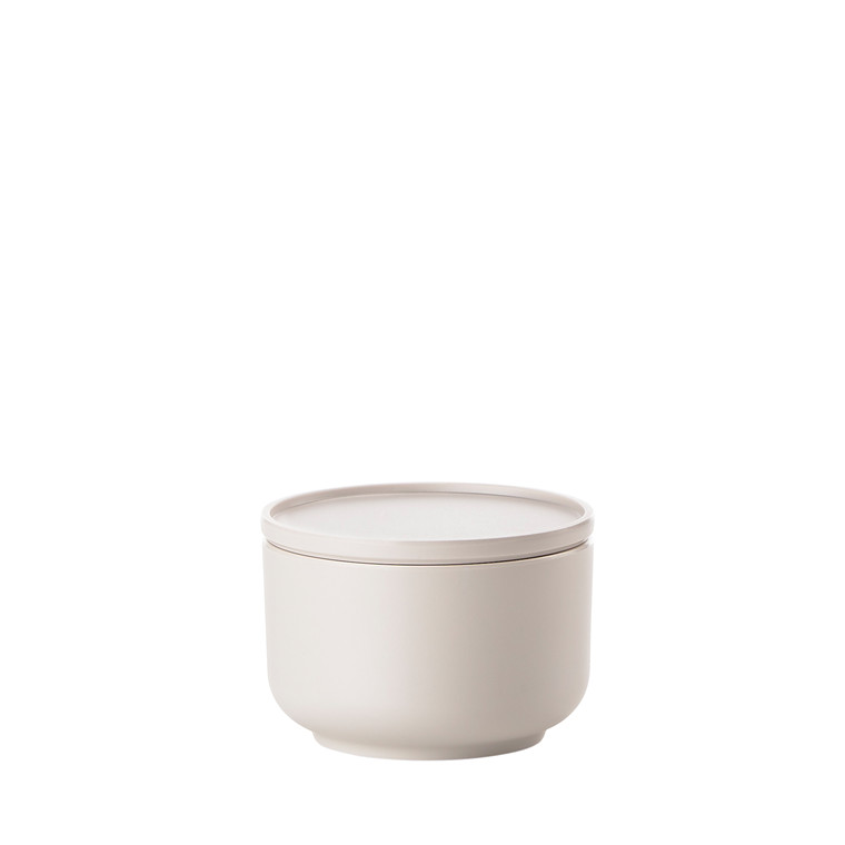 Zone Peili skål melamin 9 cm varm grå