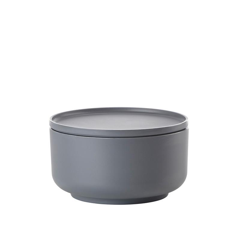 Zone Peili skål melamin 16 cm kold grå