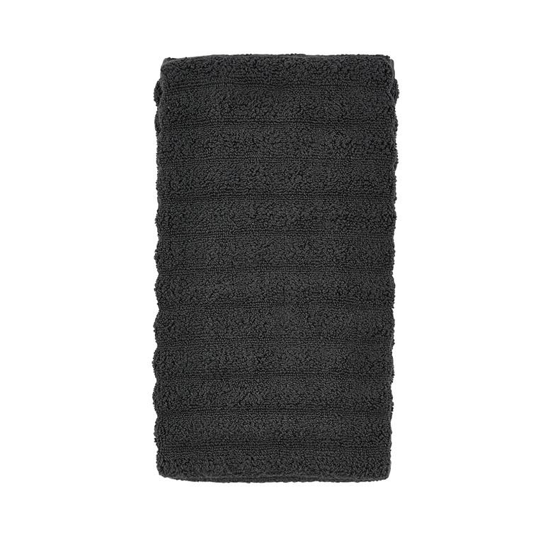 Zone Stk. Petri håndklæde 50 x 100 cm Coal Grey