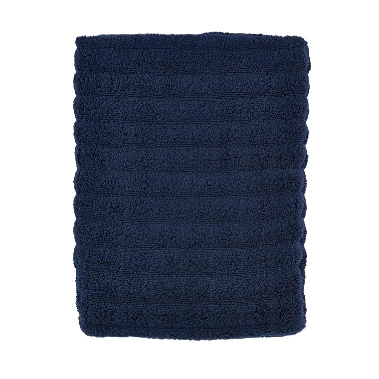 Zone Stk. Petri håndklæde 70 x 140 cm midnight blue