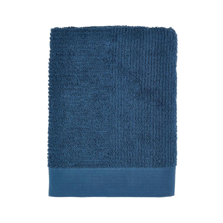 ZONE Classic badehåndklæde 70 x 140 cm azurblå