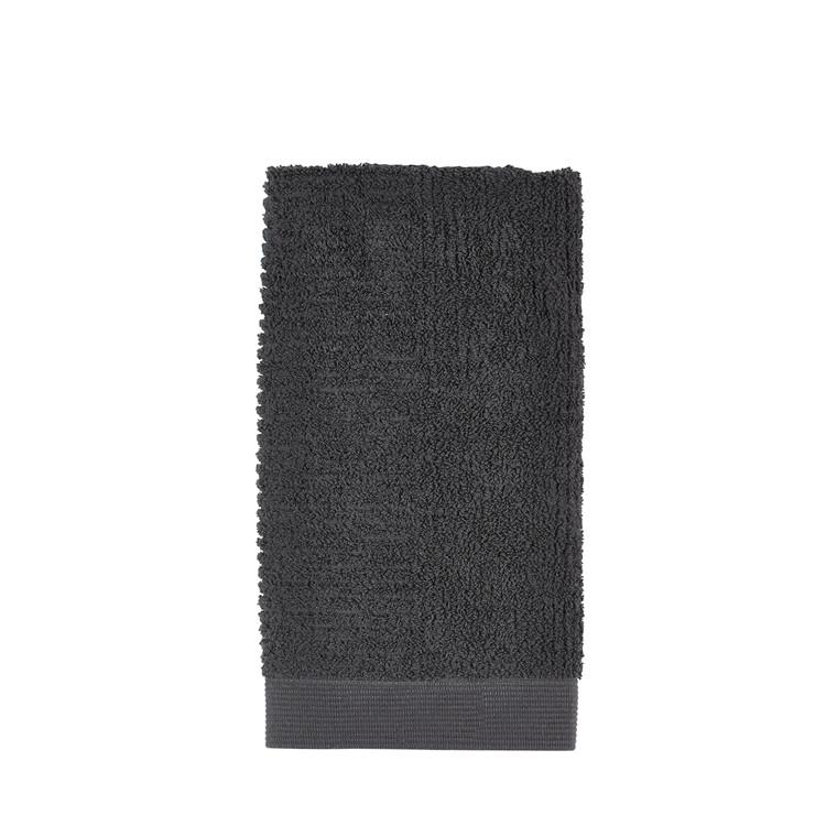 ZONE Classic håndklæde 50 x 100 cm anthracite