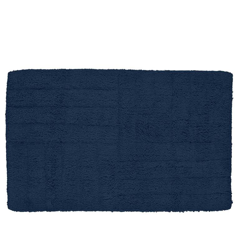 Zone Bademåtte mørk blå