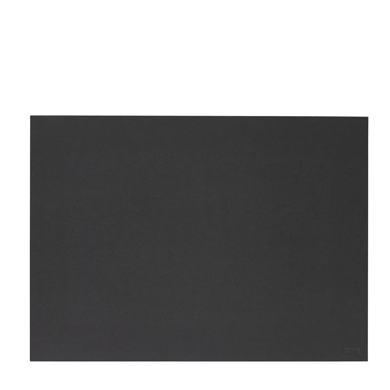Zone Dækkeserviet linoleum sort