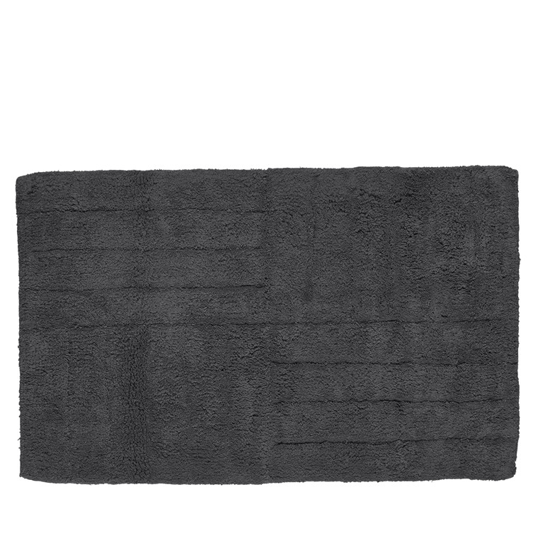 ZONE Bademåtte 50 X 80 cm antracitgrå