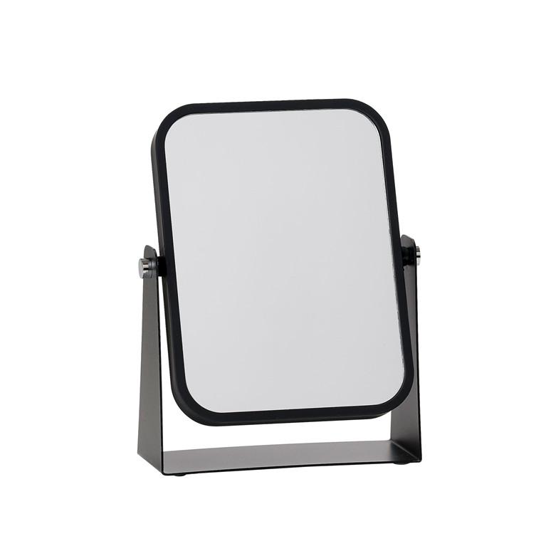 ZONE Bordspejl Black m. 3 x forstørrelse