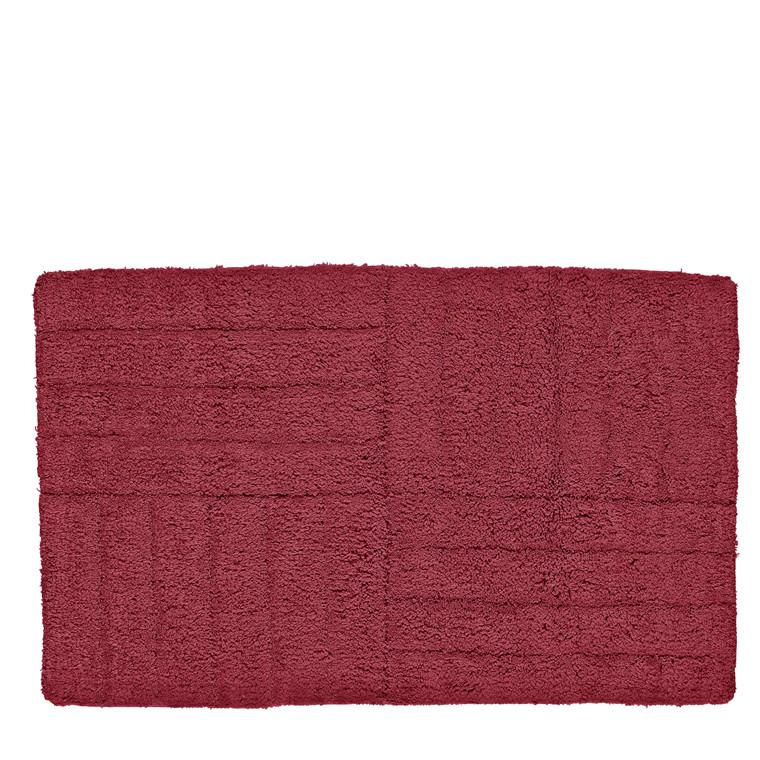 ZONE Bademåtte 80 x 50 cm Maroon Red