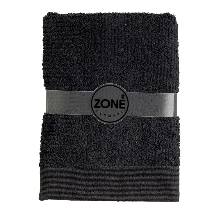 Zone Classic badehåndklæde 70 x 140 cm sort