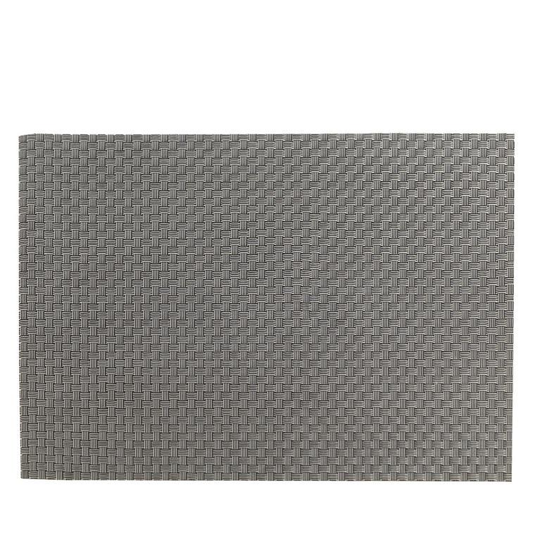 ZONE Dækkeserviet 40 x 30 cm sølv