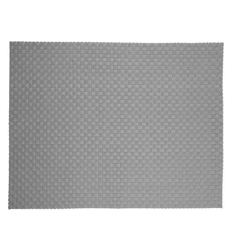 ZONE Dækkeserviet 40 x 30 cm grå