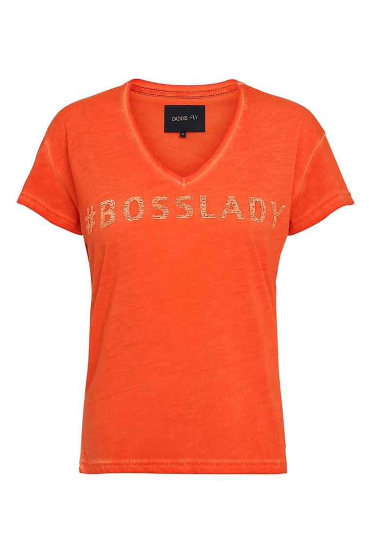 CADDIS FLY Boss Lady t-shirt