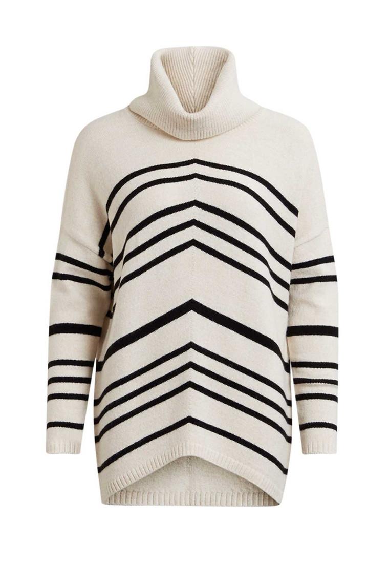 OBJECT Silli L/S knit pullover hvid