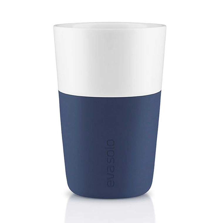 EVA SOLO Cafe Latte krus 2-pak navy blue