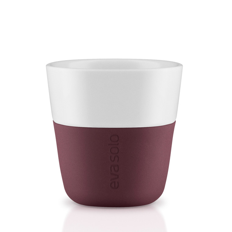 EVA SOLO Espressokrus 2 pak dark burgundy