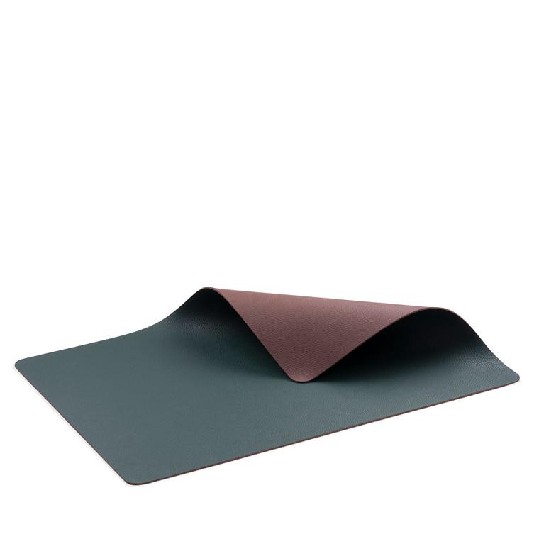 BITZ Dækkeserviet 46x33 4stk grøn/brun