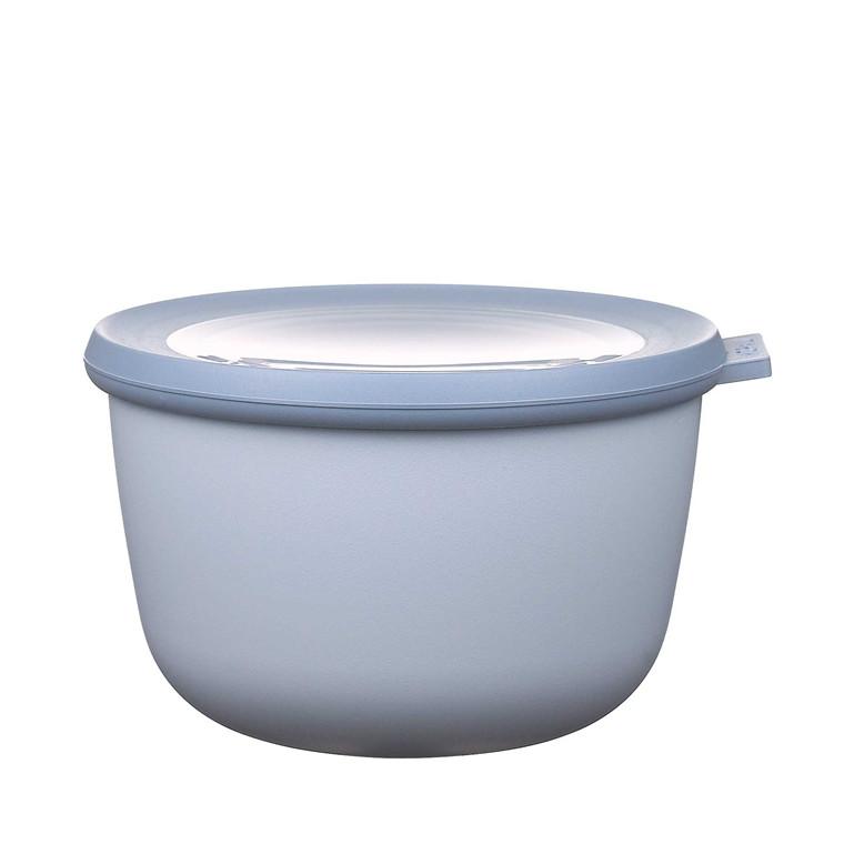 MEPAL Cirqula skål m. låg 1000 ml retro blå