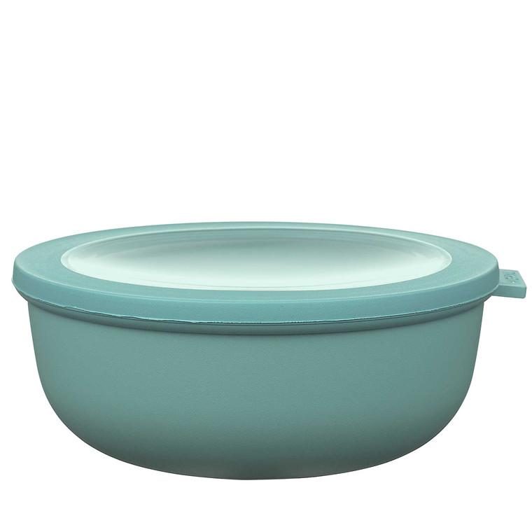 MEPAL Cirqula skål m. låg 1250 ml retro grøn