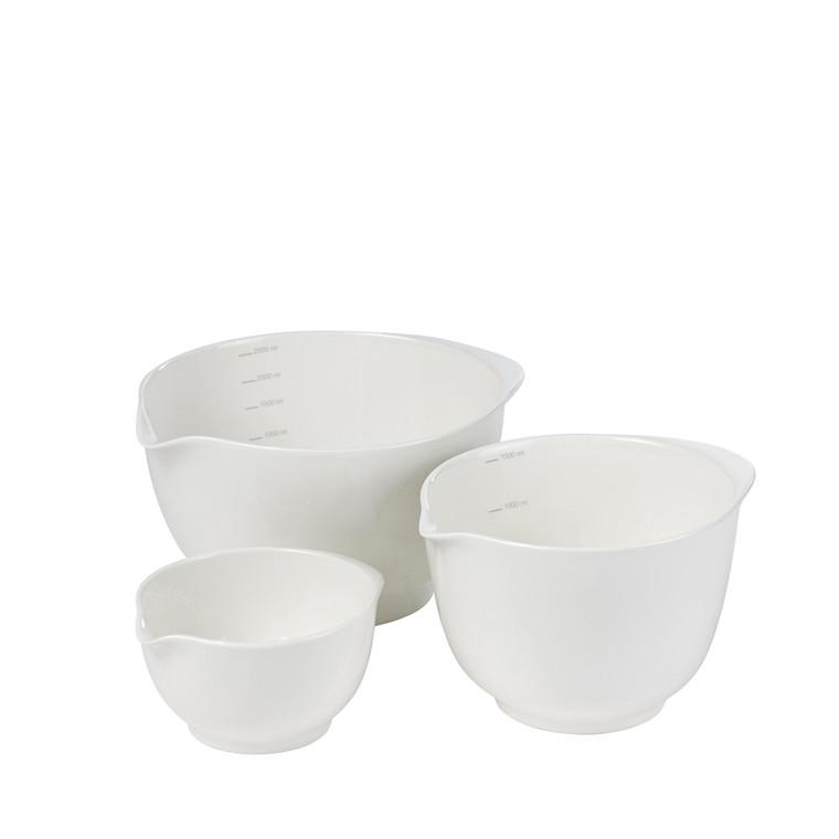 Rösti Røreskål Margrethe skålsæt 3 stk porcelæn