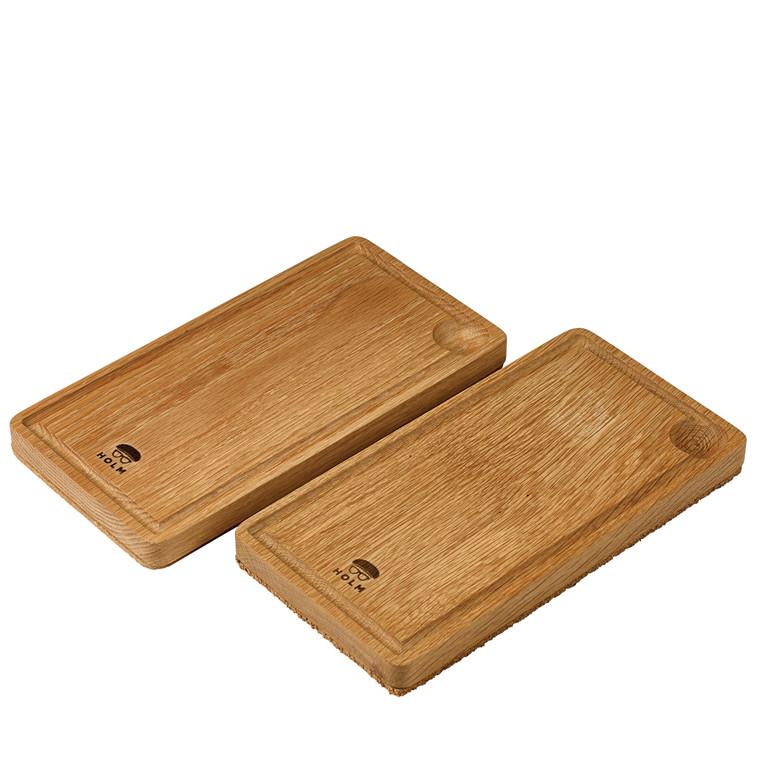 CLAUS HOLM Egebræt til planksteaks 2-pak