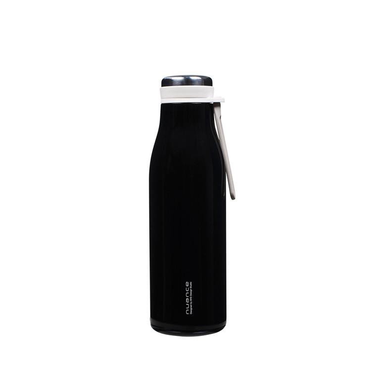 NUANCE Termoflaske m/rem 500 ml. sort