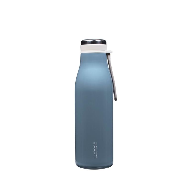 NUANCE Termoflaske m/rem 500 ml.  blå