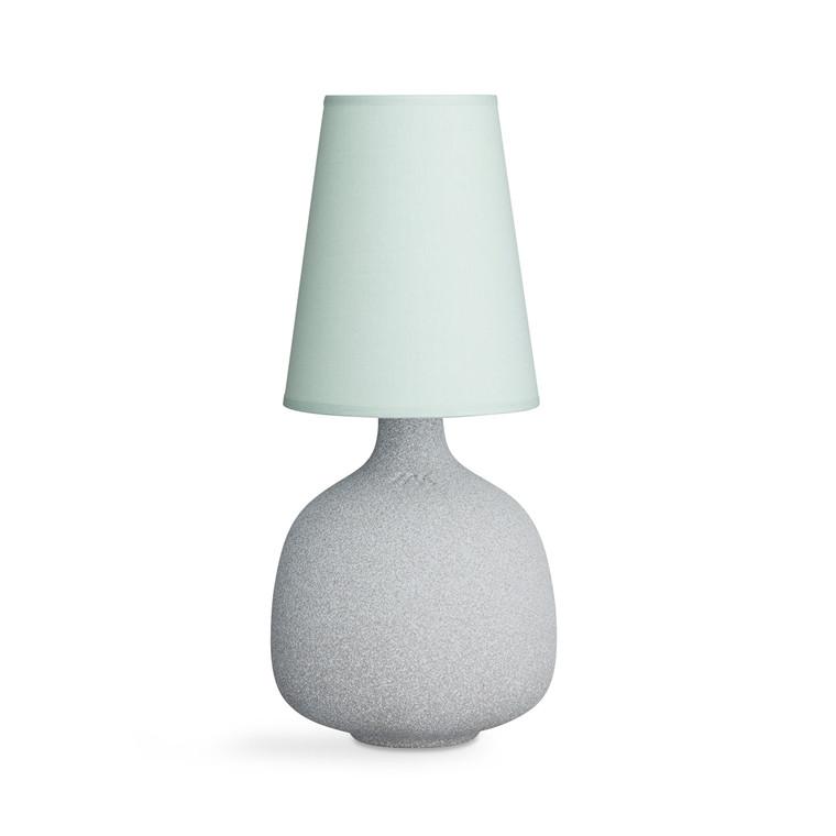Kähler Balustre Bordlampe Støvet Blå