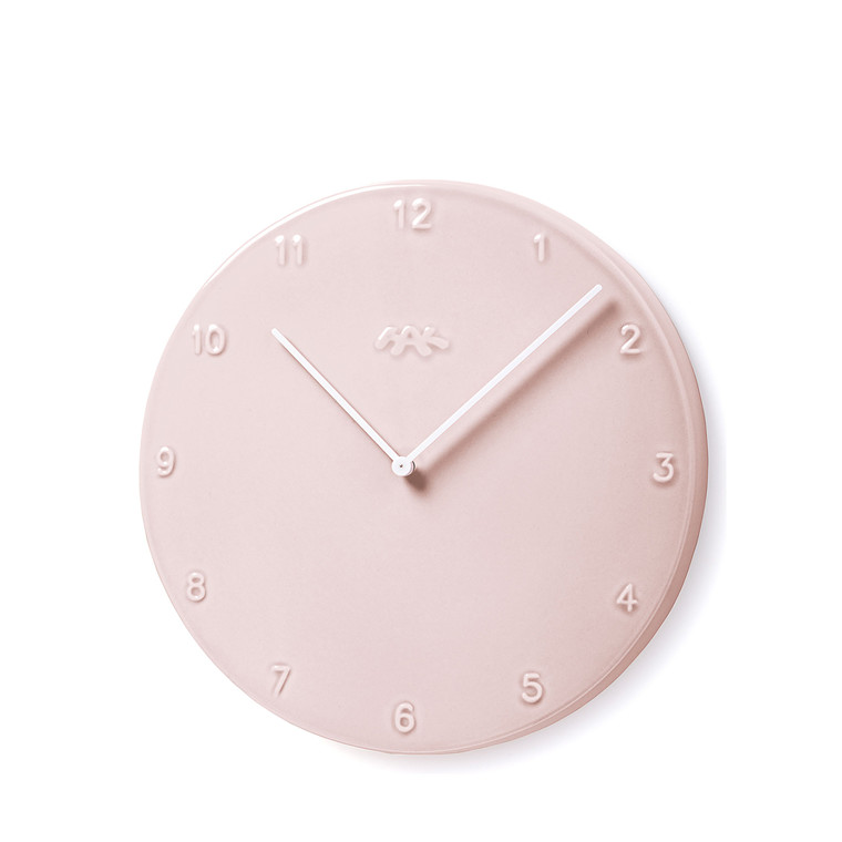 Kähler Ora vægur Ø 30 cm rosa