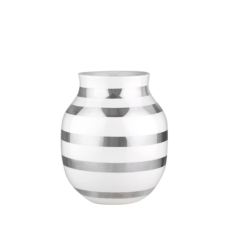 KÄHLER Omaggio vase mellem sølv