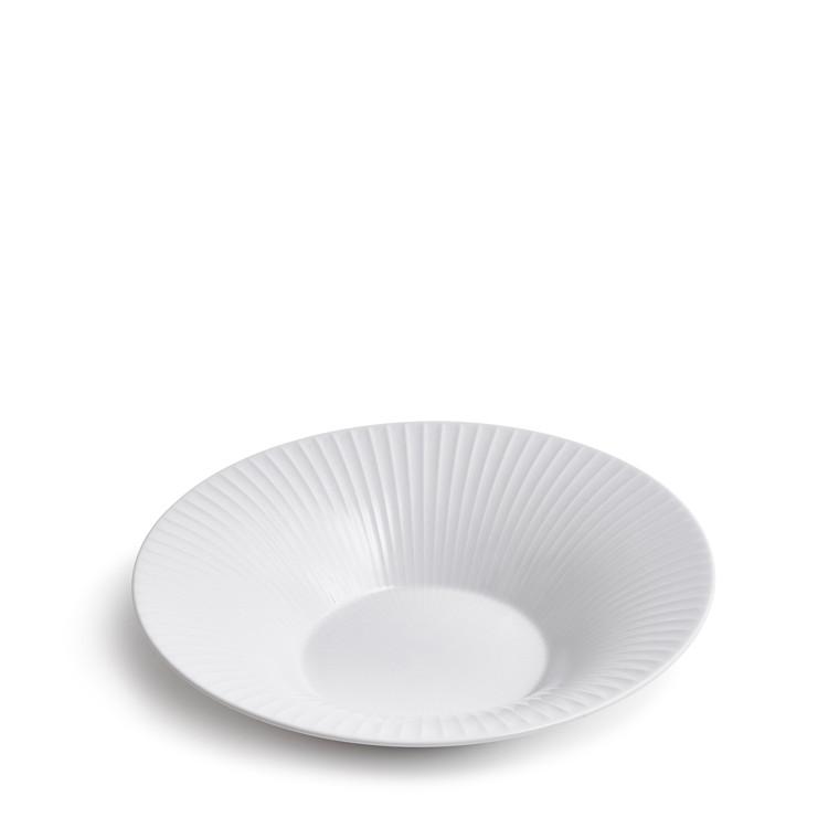 KÄHLER Hammershøi dyb tallerken 26 cm hvid