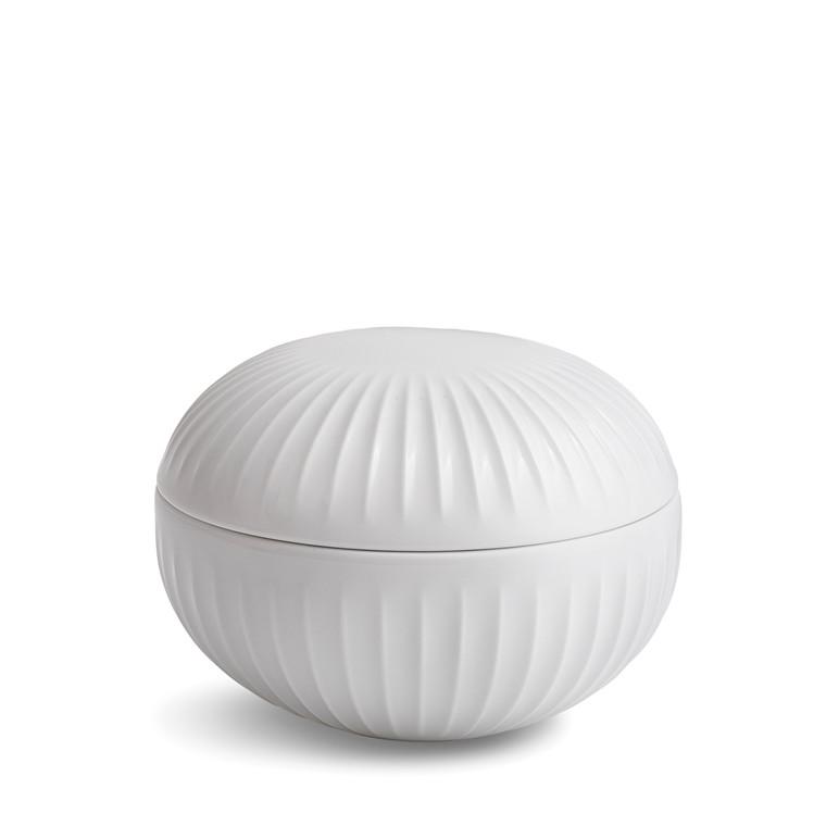 KÄHLER Hammershøi bonboniere Ø 11,5 cm hvid