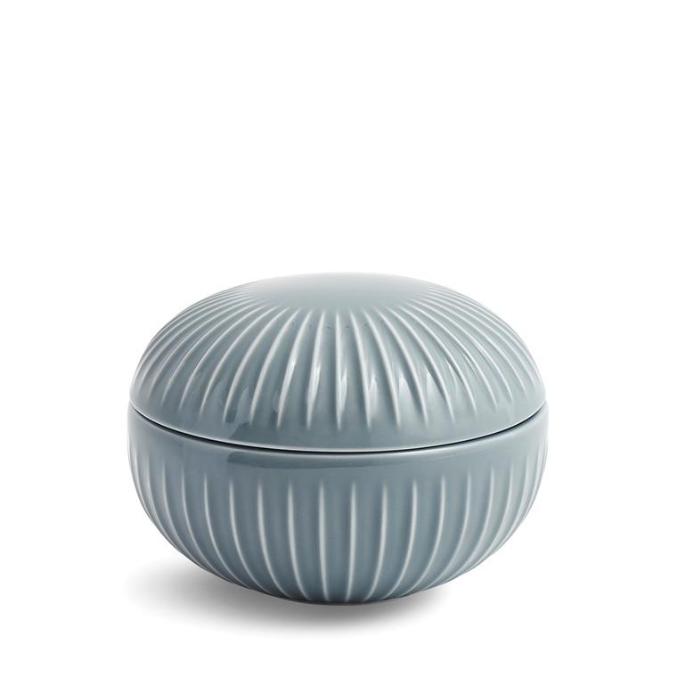 KÄHLER Hammershøi bonbonniere Ø 11,5 cm marmorgrå