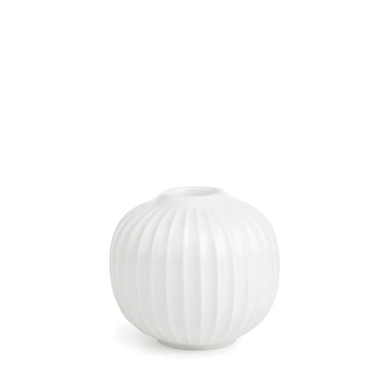 KÄHLER Hammershøi lysestage 6,5 cm hvid