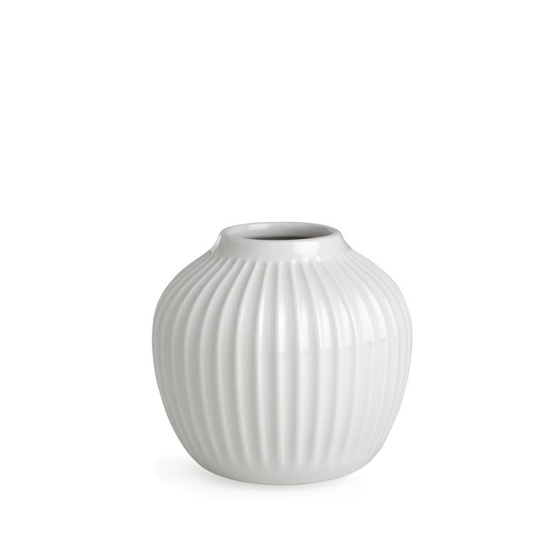 KÄHLER Hammershøi vase 12,5 cm hvid