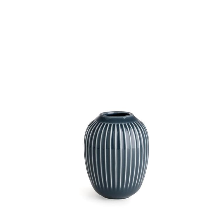 Kähler Hammershøi vase 10 cm antracitgrå