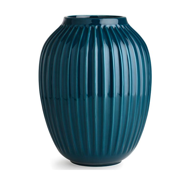 Kähler Hammershøi vase 25 cm petrol