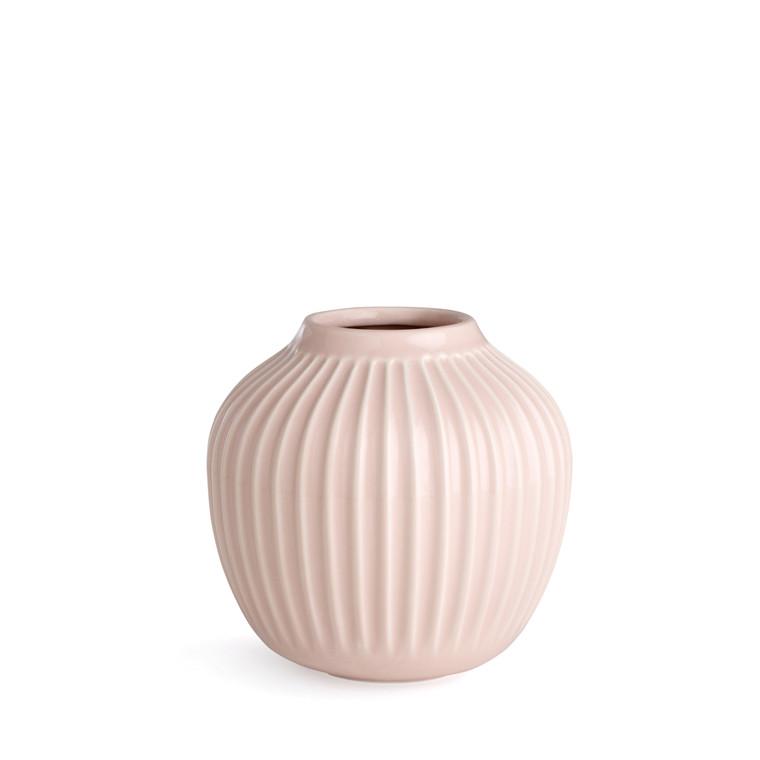 KÄHLER Hammershøi vase 12,5 cm rosa
