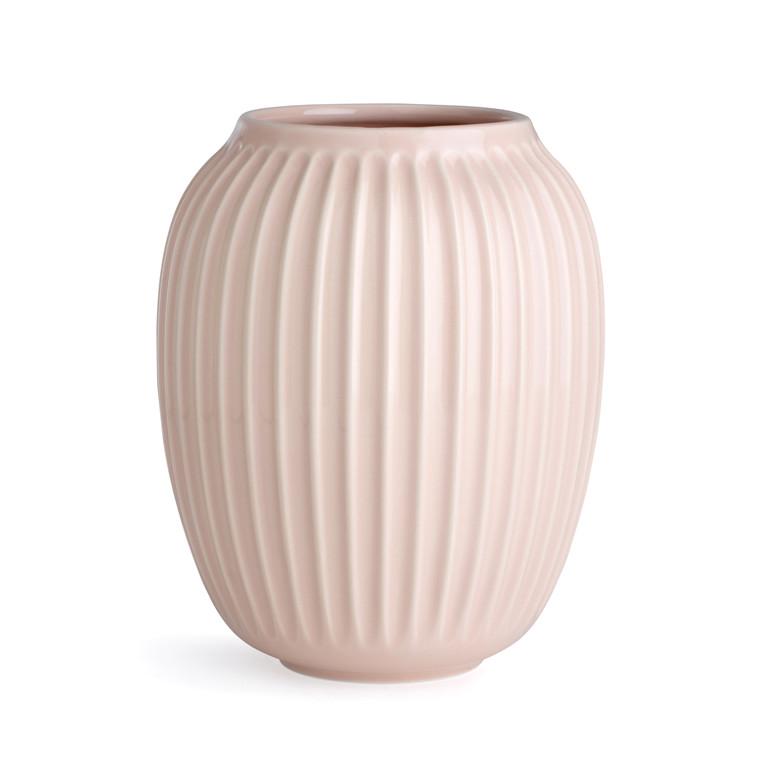 KÄHLER Hammershøi vase 20 cm rosa
