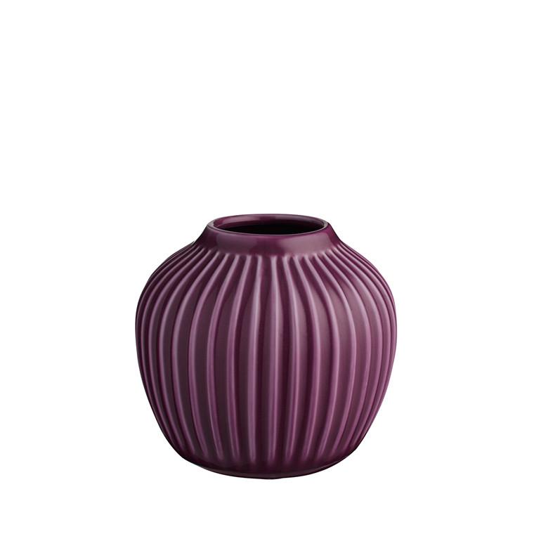 KÄHLER Hammershøi vase 12,5 cm blomme