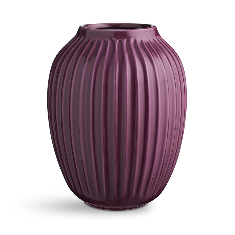KÄHLER Hammershøi vase 25,0 cm blomme
