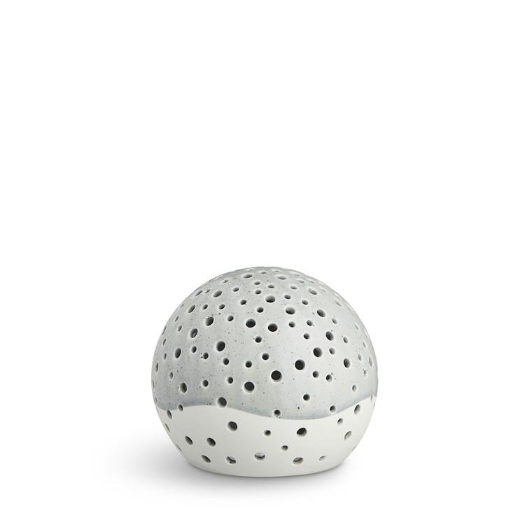 KÄHLER Nobili fyrfadsstage Ø 12 cm grå