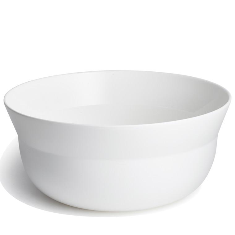 KÄHLER Kaolin skål 27 cm hvid