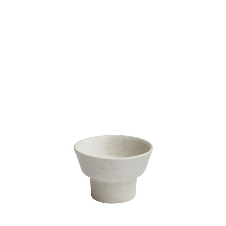KÄHLER Ombria lysestage 5,5 cm hvid